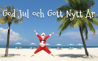 Jul och Nyårshälsningar från Solkusten